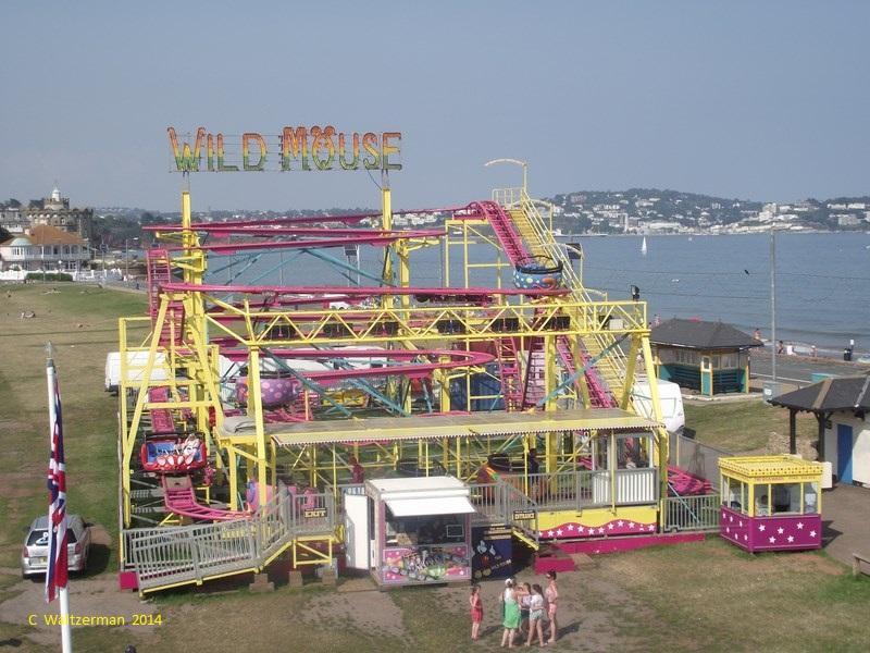 Wild Mouse Coaster